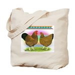 Golden Wyandottes Tote Bag