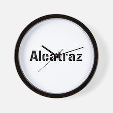 alcatraz Wall Clock