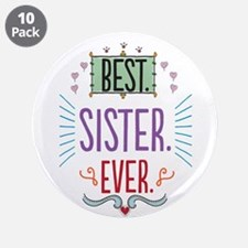 """Sister 3.5"""" Button (10 pack)"""