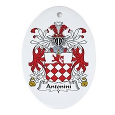 Antonini Oval Ornament