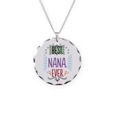 Nana Necklace Circle Charm