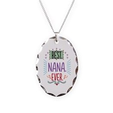 Nana Necklace Oval Charm