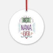 Nana Ornament (Round)