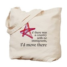 I'd Move There Tote Bag