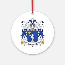 Antonelli Ornament (Round)