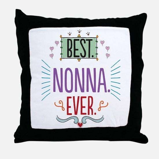 Nonna Throw Pillow