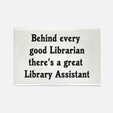 Cute Library Rectangle Magnet