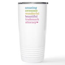 Trademark Attorney Travel Mug