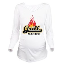 Grill Master Long Sleeve Maternity T-Shirt