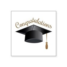 Congratulations Cap Sticker