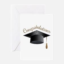 Congratulations Cap Greeting Cards
