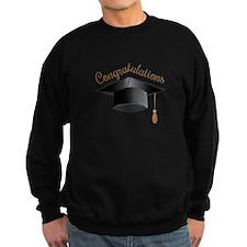 Congratulations Cap Sweatshirt