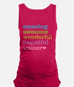 Awesome Trainer Maternity Tank Top