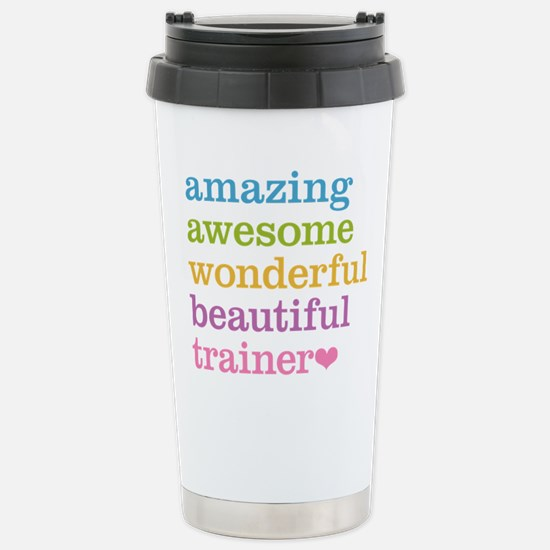 Awesome Trainer Stainless Steel Travel Mug