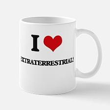 I love Extraterrestrials Mugs