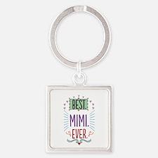 Mimi Square Keychain