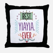 Yiayia Throw Pillow
