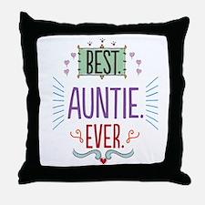 Auntie Throw Pillow