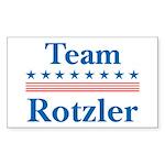 Team Rotzler Rectangle Sticker