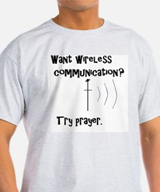 Unique Prayer worlds greatest wireless connection T-Shirt