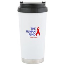 Cute Human fund Travel Mug