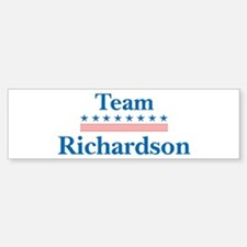 Team Richardson Bumper Bumper Bumper Sticker