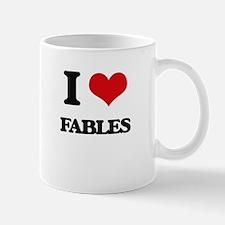 I Love Fables Mugs