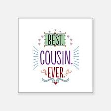 """Cousin Square Sticker 3"""" x 3"""""""