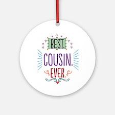Cousin Ornament (Round)