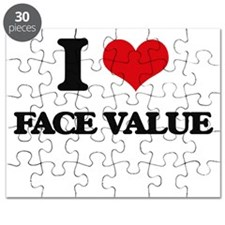 I Love Face Value Puzzle