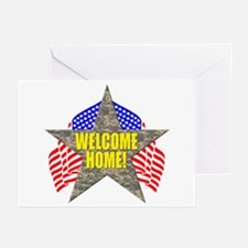 USA Troops Welcome Home Greeting Cards (Package of