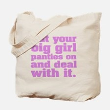 Big Girl Panties Tote Bag