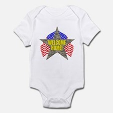 USA Troops Welcome Home Infant Bodysuit