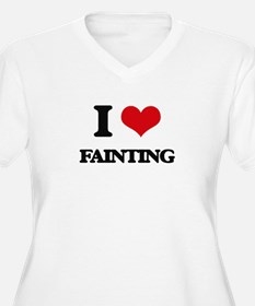 I Love Fainting Plus Size T-Shirt
