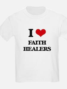 I Love Faith Healers T-Shirt