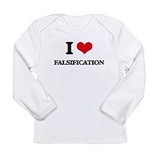 I Love Falsification Long Sleeve T-Shirt