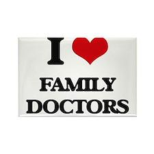 I Love Family Doctors Magnets