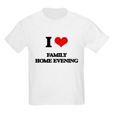 I Love Family Home Evening T-Shirt