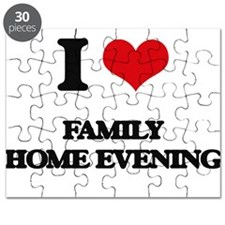 I Love Family Home Evening Puzzle