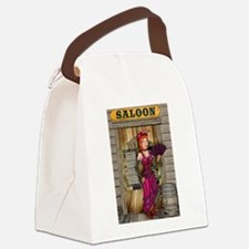 Saloon Canvas Lunch Bag