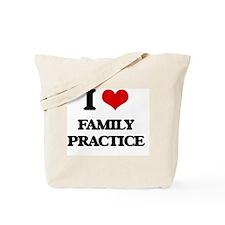I Love Family Practice Tote Bag