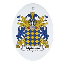 Alphonso Oval Ornament