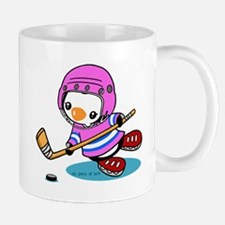 Ice Hockey Penguin (P) Mugs
