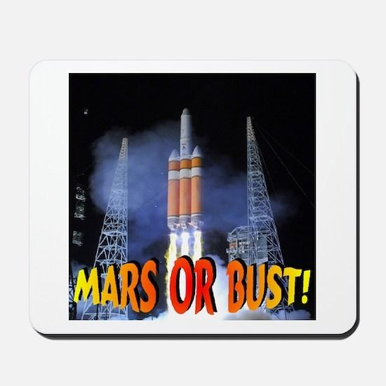 Mars or Bust! Mousepad