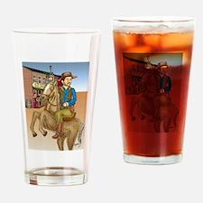 Western Drinking Glass