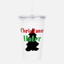 Christmas Hater Acrylic Double-wall Tumbler