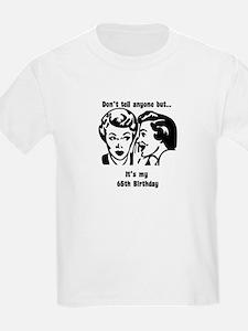 Its my 65th Birthday (vintage T-Shirt