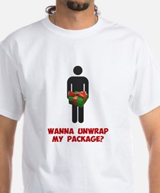 Wanna Unwrap my Package? T-Shirt