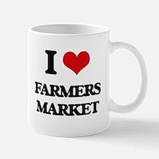 I Love Farmers Market Mugs