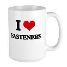 I Love Fasteners Mugs